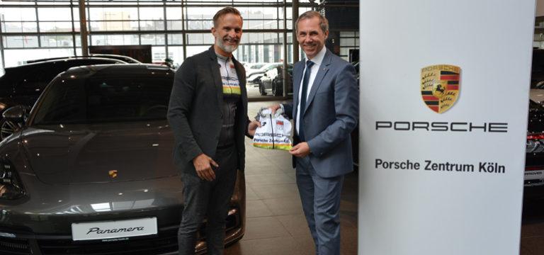 Die haberich cycling crew und das Porsche Zentrum Köln: Eine schnelle Verbindung!
