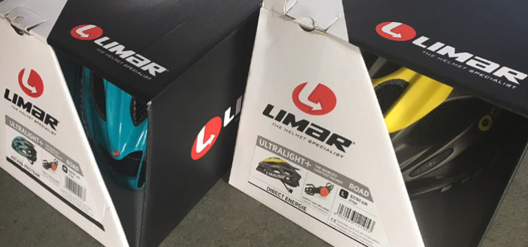 "Testobjekt: Radhelm der Profis ""Limar Ultralight +"""