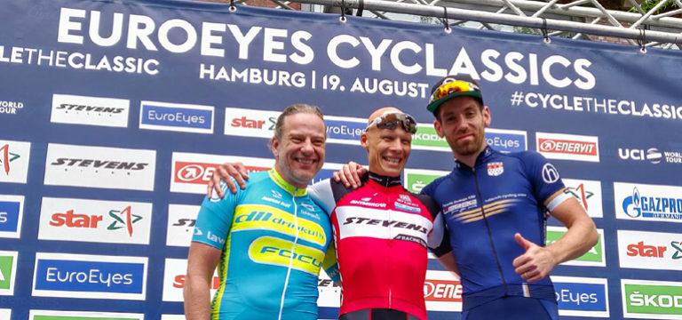 Treppchen bei dem größten Radrennen Europas!