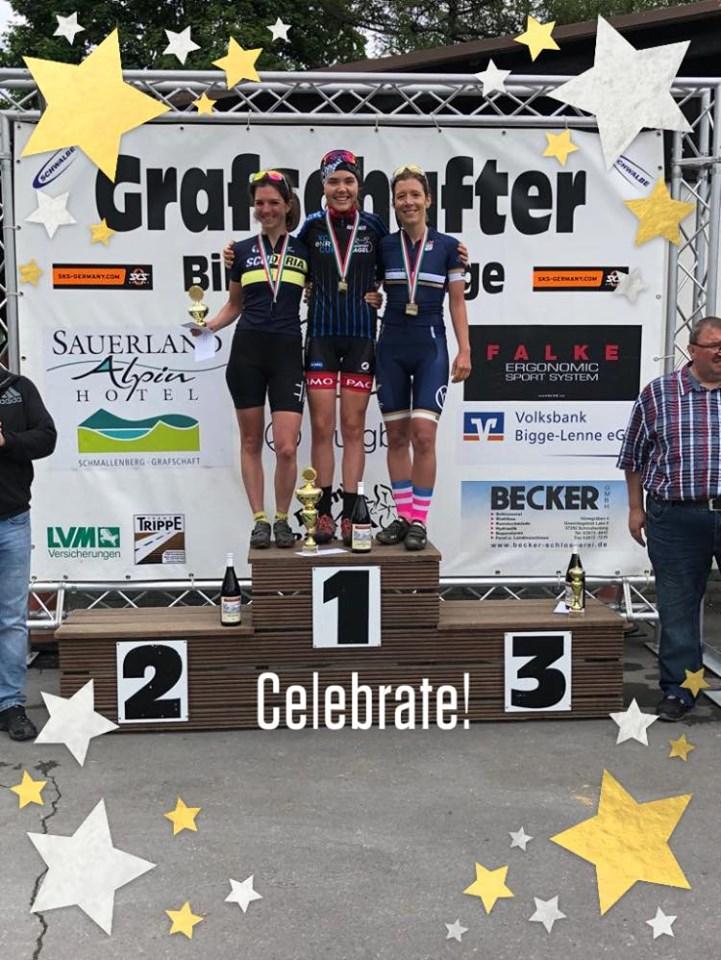 3. Platz für Katharina bei den Landesverbandsmeisterschaften auf dem Mountainbike