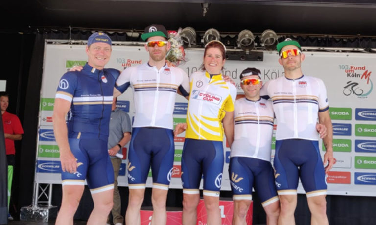 """Mission Gelb"" der haberich cycling crew"